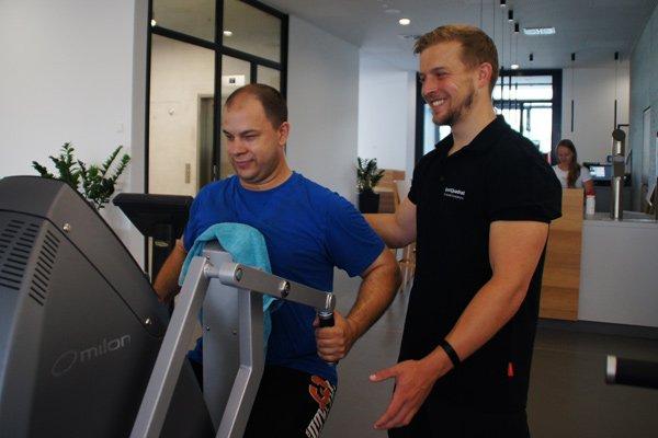 SportQuadrat Training Milon Betreuung Milonzirkel