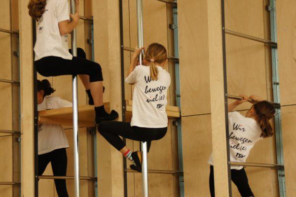 Kindersport und Bewegungslandschaft im SportQuadrat