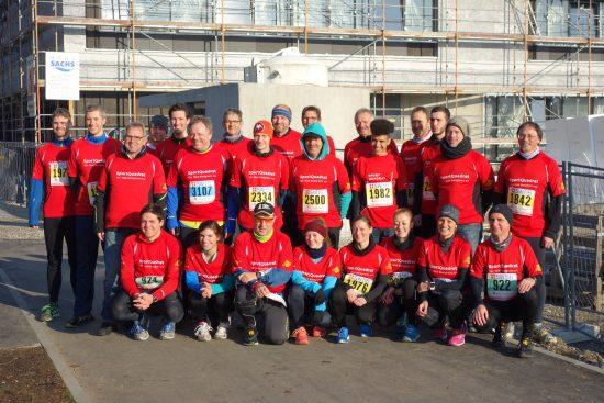 SportQuadrat beim Silvesterlauf: sportlich, fit und laufmotiviert