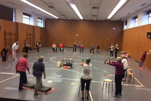 Gesundheitskurse und Fitnesskurse im SportQuadrat