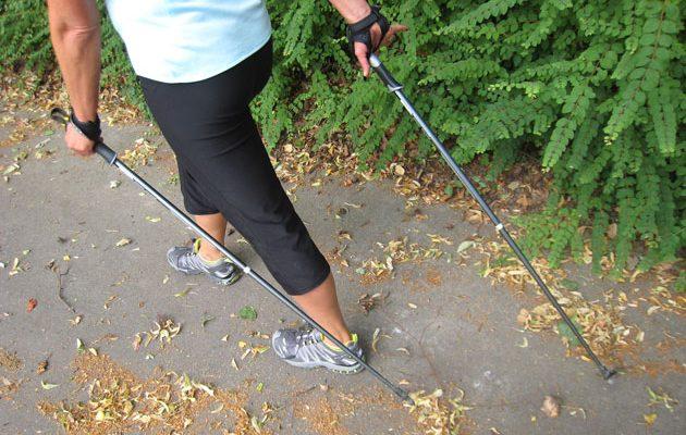 Nordic-Walking-Special im SportQuadrat mit Claudia Kraft